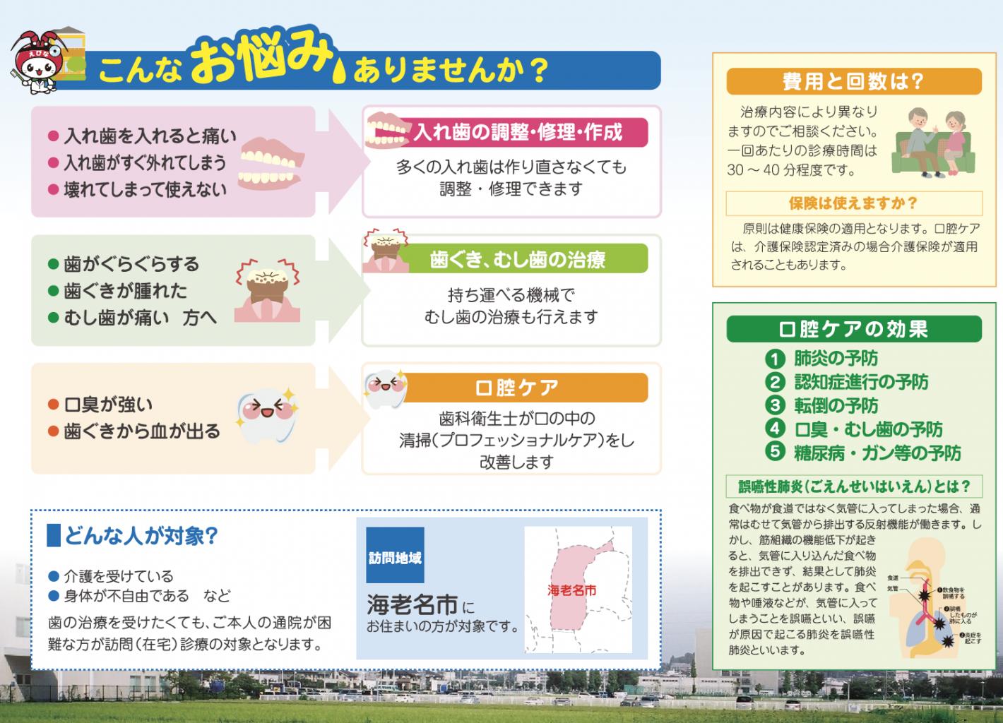 障がい者歯科診療/訪問歯科診療